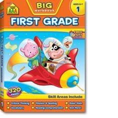 Big First Grade Workbook- used by bits and pieces