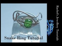 ▶ Snake Ring - A Wire Wrap Tutorial - YouTube