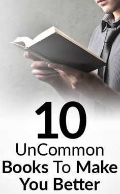 10 Books All Men Should Own | UnCommon Reads To Make You A Better Man | Increase Your Happiness Health & Wealth
