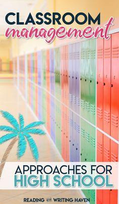 Practical classroom management ideas for older students #classroommanagement #highschoolteacher