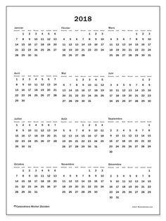Calendario 2019 - Michel Zbinden IT Pocket Calendar, Print Calendar, Calendar Pages, 2019 Calendar, Bullet Journal Année, Free Printable Calendar, Free Printables, Filofax, Diy Agenda