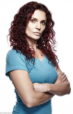 Real life drama: Danielle Cormack, who plays Bea Smith in Foxtel SoHo's Wentworth, reveale...