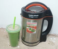 My Immune System Boosting Smoothie Recipe with the Morphy Richards Soup Maker – Vegan/Vegetarian