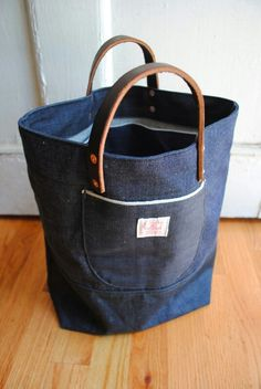 Selvedge bag