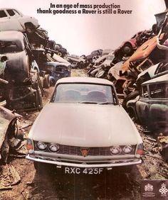 Rover 2000 TC adv Classic Cars British, British Car, Rover P6, Van Car, Car Brochure, Car Posters, Car Advertising, Mustang Cars, Car Images