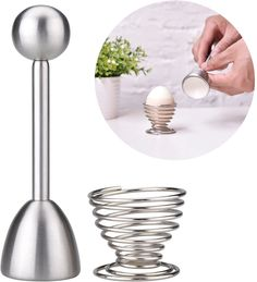 Zum öffnen von Eiern #Eiköpfer #Eiöffner Cracker, Home Decor, Egg Cups, Coffee Making Machine, Stainless Steel, Household, Decoration Home, Room Decor, Home Interior Design