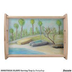 ANASTASIA ISLAND Serving Tray