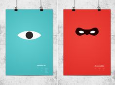 minimalist disney posters for M to look at