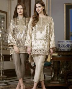 Beautiful Ladies in IVY Couture. Get these outfits today at our Lahore Flagship Store at Hussain Chowk MM Alam Rd. Pakistani Fashion Party Wear, Pakistani Formal Dresses, Pakistani Wedding Outfits, Pakistani Couture, Pakistani Dress Design, Bridal Outfits, Designer Party Wear Dresses, Indian Designer Outfits, Indian Outfits