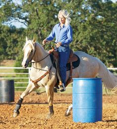 It's not just about speed! 10 tools for better barrel racing.