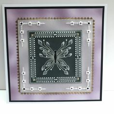 Barbara Gray, Parchment Craft, Card Ideas, Coasters, Projects To Try, Card Making, Plates, Frame, People