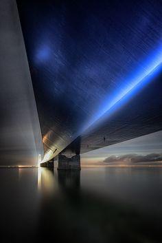Storebæltsbroen by Volker Birke on Art Limited