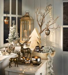 Weihnachtstrends 2015 - Dekohirsche - Erhältlich bei deinem Einrichtungspartner in der Nähe