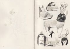 sketchbook - felicita sala