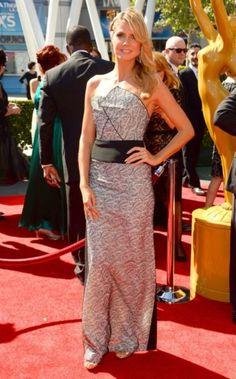Heidi Klum at the Creative Arts #Emmy Awards 2013 in LA
