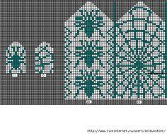 Interesting knitting chart for mittens. Knitting Charts, Free Knitting, Knitting Socks, Knitting Patterns, Knitted Mittens Pattern, Knit Mittens, Knitted Gloves, Filet Crochet, Knit Crochet