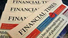 Financial Times sold to Nikkei by Pearson for £844m - BBC News