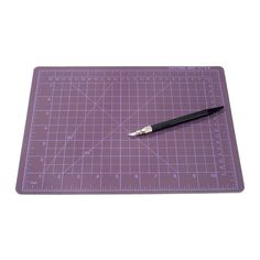 Always need a good cutting mat, and this comes with a nice knife, too.