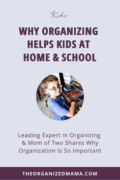 We're going to talk about why organizing helps kids at home and at school. I'll also share some of my favorite tools for getting kids organized! Click to get your kids ready for the school year, whether you're homeschooling, e-learning, going to in-person school, or some combination! Organization Skills, Playroom Organization, Organizing, Small Playroom, Toddler Playroom, Study Skills, Life Skills, Organized Mom, Kids House