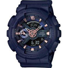Casio G-Shock S-Series GMA-S110CM-2A Watch   Navy