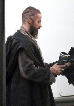 Look Down, Look Down Don't Look Em in the eye. Hugh Jackman as Jean Valjean in Les Miserables