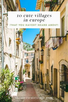 10 Cute Villages in Europe (That You Haven't Heard About) - The Overseas Escape-1
