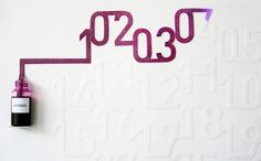 なにこれすごい!インクを吸い上げる魔法のカレンダー - IRORIO(イロリオ)