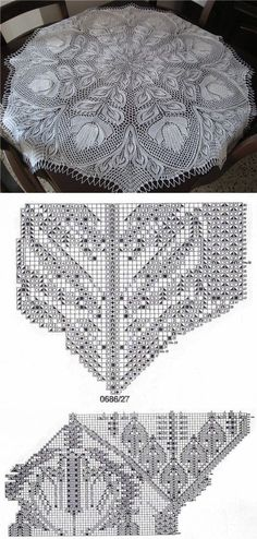 Crochet doily which would make a great flower mandala. Crochet Doily Patterns, Shawl Patterns, Lace Patterns, Thread Crochet, Filet Crochet, Lace Knitting, Knitting Stitches, Crochet Doilies, Stitch Patterns