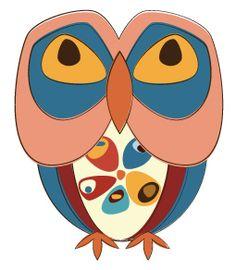 D336_Retro_Owl  from owladay.wordpress.com