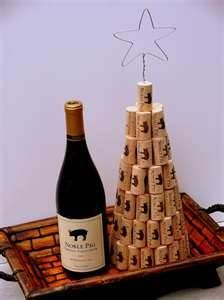 Image detail for -12 Merry Wine Christmas Decorations Wine cork christmas tree 2 ...