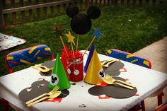 Mickey Mouse Party Birthday Party Ideas | Photo 2 of 20 | Catch My Party