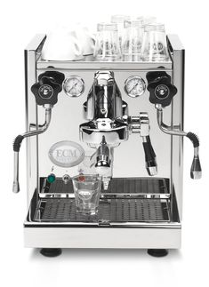 Refurbished ECM Technika IV Espresso Machine - Whole Latte Love Buy Coffee Beans, Ground Coffee Beans, Coffee Shop, Espresso Machine Reviews, Espresso Coffee Machine, Coffee Maker, Espresso Drinks, Coffee Drinks, Barista