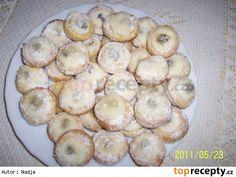 Křehké  koláčky bez kynutí, i DIA