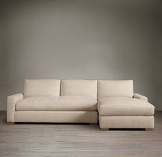 """MAXWELL UPHOLSTERED RIGHT-ARM SOFA CHAISE SECTIONAL 