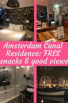 Amsterdam Canal Residence | Focused Travels Steep Staircase, Jacuzzi Bathtub, Amsterdam Canals, Visit Amsterdam, Canal Boat, Rain Shower, Boat Tours, Reception Areas, At The Hotel