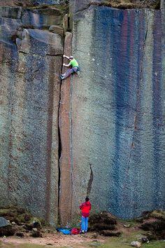 Climbing up - Mammut Teamtrip 2010 Sheffield by mammutphoto, via Flickr