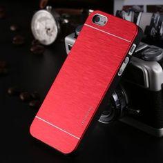 Cover Brosh Aluminium Lussuoso Per Iphone 5/5S  Custodia  dispo  6 colore