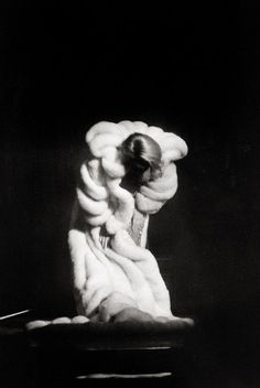 Moments. moments...Marlene Dietrich taking a bow, 1964, photo by Arno Fischer.