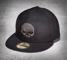 2ce3d5eeef488 59FIFTY Skull Baseball Cap