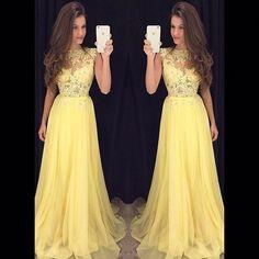 Tulle yellow prom dresses long cheap vestido longo branco lace bodice dress homecoming