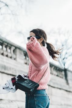 {vintage knit jumpers} {pretty in pink} {inspiration from Belle & Bunty}