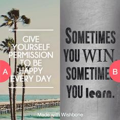 Which quote means more? I thought the one on the left did