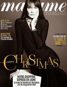 Carla Bruni for Madame Figaro December 2013