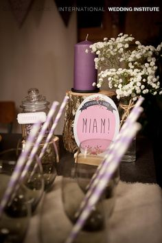 Rustic Chic Sweets Table - Sweet table Rustique Chic | International Wedding Institute