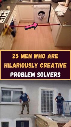 A lot of men like solving problems. They like to pretend they're the next MacGyver.  But most of the time, they solve their problems with the most, let's just say, creative fixes.  Women find it baffling how men can think of these solutions but they somehow work. Men can't explain how but they do.  Have you ever used any of these fixes? Epic Quotes, Best Inspirational Quotes, Majestic Animals, Diy Furniture Projects, Good Jokes, Amazing Facts, Fun Facts, Funny Humor, Funny Pictures