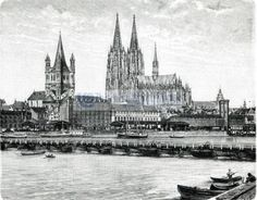 Köln,  restaur. Neudruck