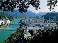 Salzburg Austria - the most beautiful city I've had the pleasure of visiting.