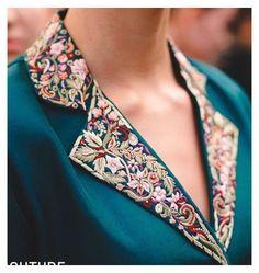 Salwar Neck Designs, Neck Designs For Suits, Kurta Neck Design, Neckline Designs, Dress Neck Designs, Fancy Blouse Designs, Kurta Designs Women, Designs For Dresses, Collar Designs