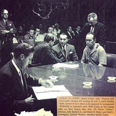 #TBT to 1961 when CCS founder Morris Chain represented Western swing music icon Spade Cooley, on trial for murder. The #Bakersfield Californian recently highlighted the case.