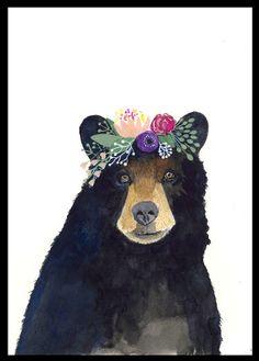 Woodland Nursery Art, Set of Prints, Animal Paintings, Fox, Bear, Deer, Owl, Animal Wall Art, Childrens Wall Decor, Kids Art Print, Forest by zuhalkanar on Etsy https://www.etsy.com/listing/249641060/woodland-nursery-art-set-of-prints